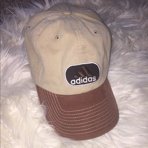 90s Brown Adidas Hat